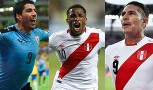 Luis Suárez elogia a Guerrero y  Farfán por su trayectoria en la selección peruana