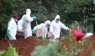 Brasil registra más de 50 mil fallecidos por COVID-19
