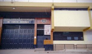 Cusco: INPE auxilia a internos que ingirieron bebida mezclada con thinner en penal