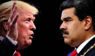 """Nicolás Maduro dijo estar """"dispuesto"""" a conversar con Donald Trump"""