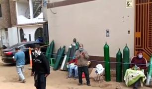 Trujillo: el duro camino para conseguir y recargar un balón de oxígeno