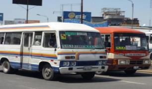Arequipa: suspenden servicio de transporte público hasta el 30 de junio por casos de COVID-19