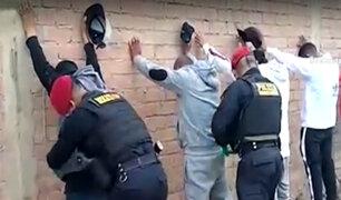 """Policía desarticula banda delincuencial """"El clan de San Fernando"""""""