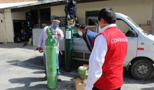 Covid-19: Contraloría supervisará distribución de oxígeno medicinal