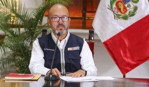 """Ministro Zamora: recientes cifras sobre Covid-19 revelan """"Un futuro esperanzador"""""""