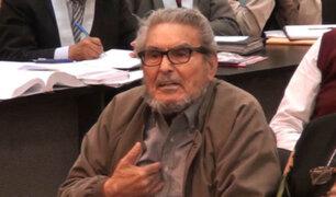 Abimael Guzmán: declaran infundado hábeas corpus que pedía excarcelación por Covid-19