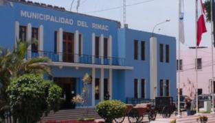 Intervienen Municipalidad del Rímac por presuntos actos de corrupción durante pandemia