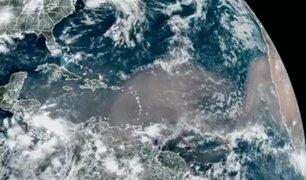 Gigantesca nube de polvo del Sahara cubre varias zonas del Caribe