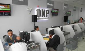 Congreso plantea otorgar bono de S/ 2 000 a aportantes activos de la ONP