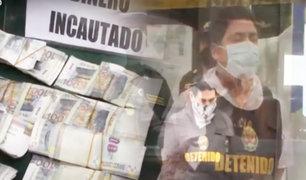 San Martín de Porres: PNP detienen a balazos a banda de extorsionadores
