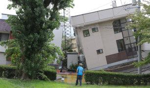 Terremoto de magnitud 6.2 sacudió hoy el este de Japón