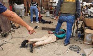 SMP: Policía se enfrenta a delincuentes y frustra asalto a comerciante de metales