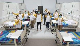 Comas: Legado de los panamericanos entrega nuevo centro de hopitalización para pacientes COVID-19