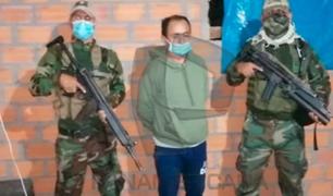 Capturan a prófugo Gregorio Santos en Moyobamba