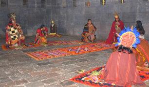 Por el día del Cusco: realizan ritual Onqoy Mit'a y piden por cese de la pandemia
