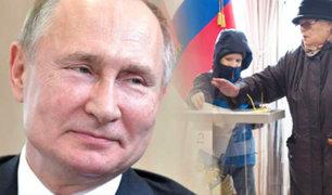 Rusia vota en referéndum que ampliaría mandato de Vladimir Putin