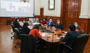 Vicente Zeballos se reúne con expresidentes del consejo de Ministros