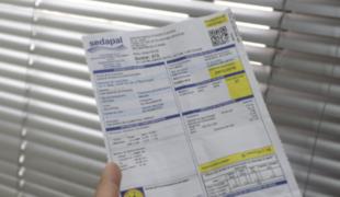 Sedapal suspende temporalmente recibos con incremento del más del 100%