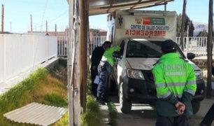 Covid-19 en Puno: roban autopartes de la única ambulancia que traslada a pacientes
