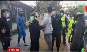 Policías y serenos de La Molina frustran asaltos durante el Estado de Emergencia