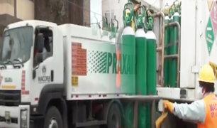 Cañete: entregan importante donación de 100 balones de oxígeno