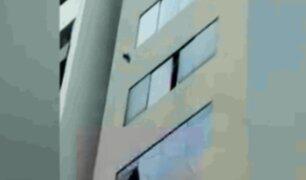 Miraflores: vendían droga arrojándola desde piso ocho