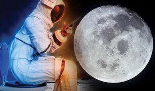 La NASA busca desarrolladores para el inodoro espacial que se usará en la Luna