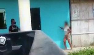 Tumbes: adolescente amenaza con un cuchillo a su vecina