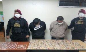 Callao: Policía utilizó dron para desarticular banda que se dedicaba a la venta de drogas