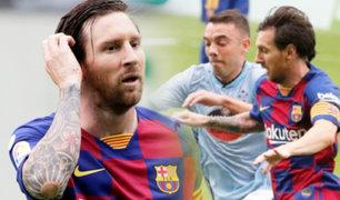 Barcelona empata con el Celta y Real Madrid sigue en la punta