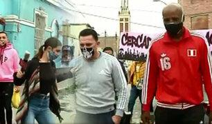 """Futbolistas solidarios: el """"Cuto"""" Guadalupe y el """"Conejo"""" Rebosio se unen por los más necesitados"""