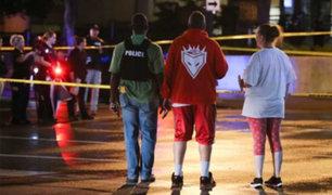 EEUU: balacera en mitin antiracista deja un muerto y un herido