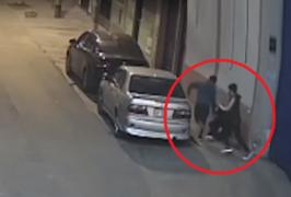 SJM: cámaras de vigilancia captan cogoteo y asalto a una joven