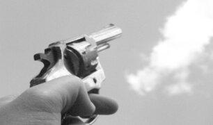 Matan a joven frente a Mercado Mayorista de Santa Anita