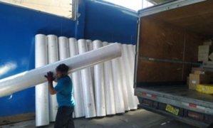 """Arequipa: empresarios se reactivan confeccionando """"oro blanco"""" para EsSalud"""