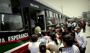 """Martín Vizcarra sobre aforo en buses: """"No puede haber ningún pasajero parado"""""""