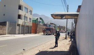 Arequipa: fuerte explosión en taller cobró la vida de tres personas