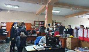 Chorrillos: Fiscalía y Diviac intervienen municipalidad por presuntas irregularidades