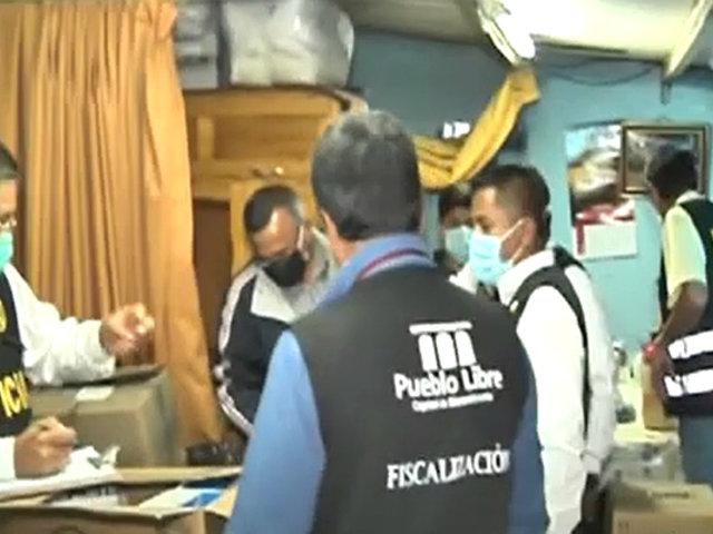 Pueblo Libre: cochera almacenaba 2500 medicinas de manera clandestina