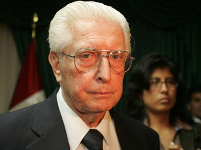 Javier Alva Orlandini: fundador de Acción Popular murió a los 92 años de edad