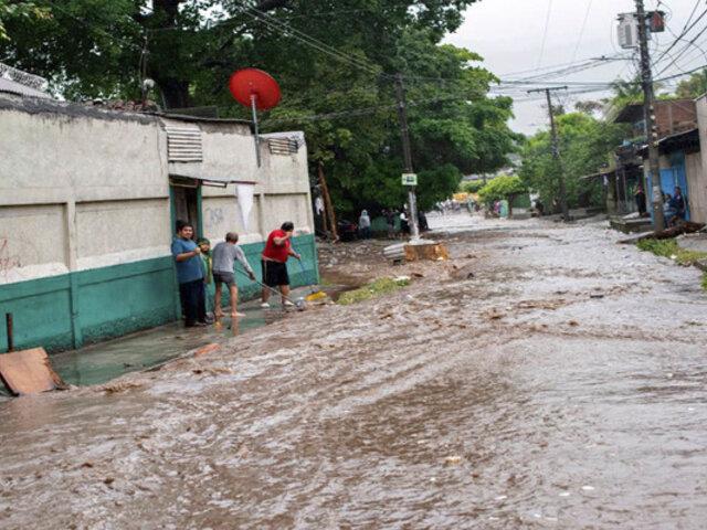 El Salvador, Guatemala y México golpeados por el paso de la tormenta tropical Amanda