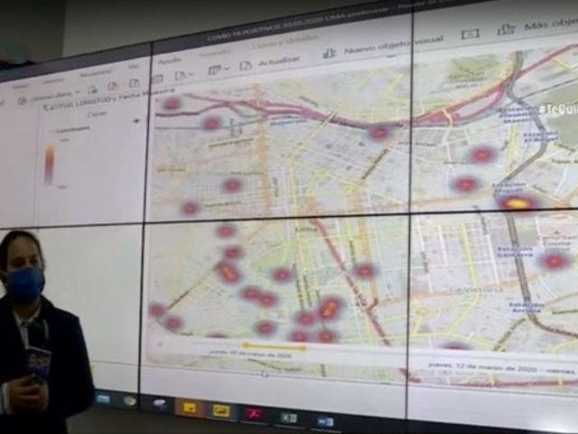 Covid-19: estas son las avenidas donde hay mayor riesgo de contagio