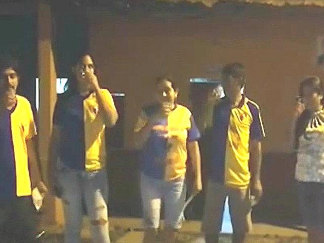 Tumbes: hinchas festejan en la calle aniversario de su equipo pese a cuarentena