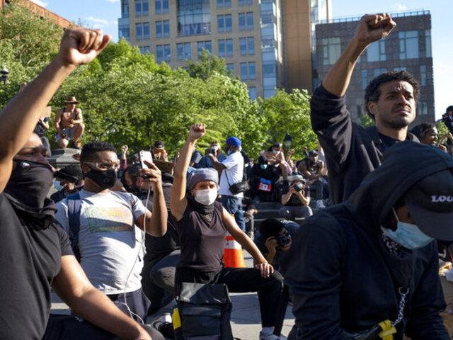 Masivas protestas contra el racismo continúan por calles y plazas de Nueva York