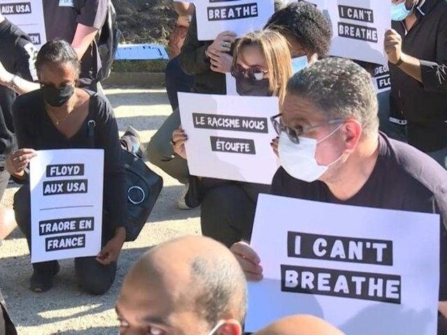 Francia: población también alzó su voz de protesta tras muerte de George Floyd