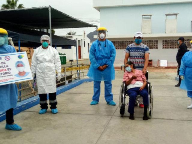 Anciana con derrame cerebral y tres portadores de VIH vencen al coronavirus