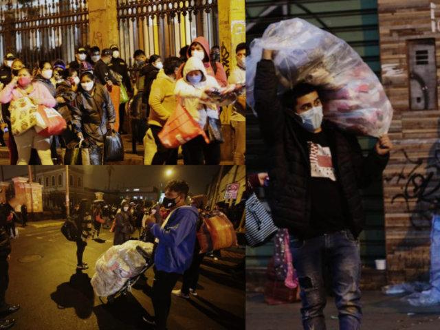 Coronavirus: Peligro de contagio ante posible desborde de ambulantes por crisis económica