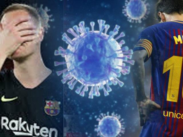 Barcelona informó que presenta casos positivos de COVID-19