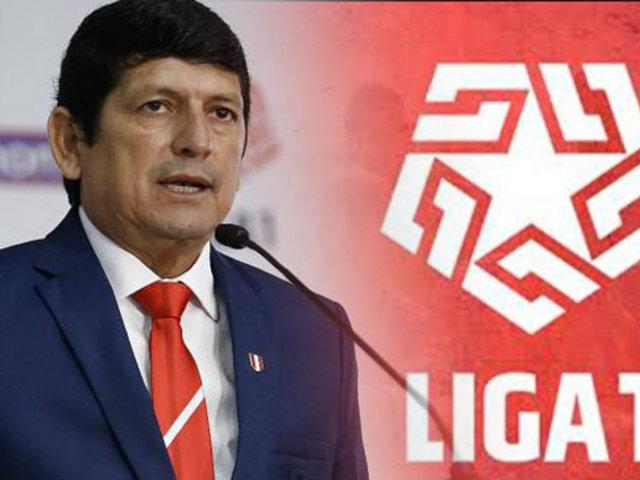 FPF: Agustín Lozano confirma que el campeonato peruano se reanudará en Lima