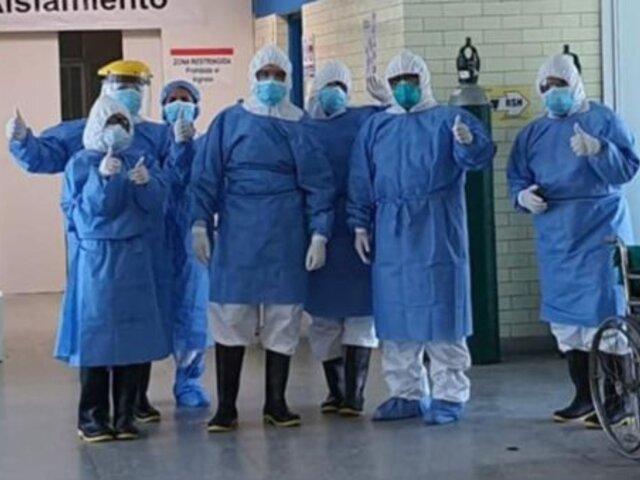 Covid-19 en Perú: 4 336 pacientes más fueron dados de alta